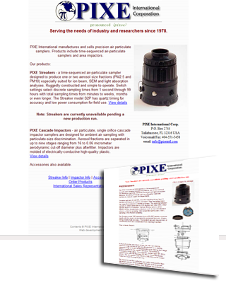 PIXE Air Particulate Samplers